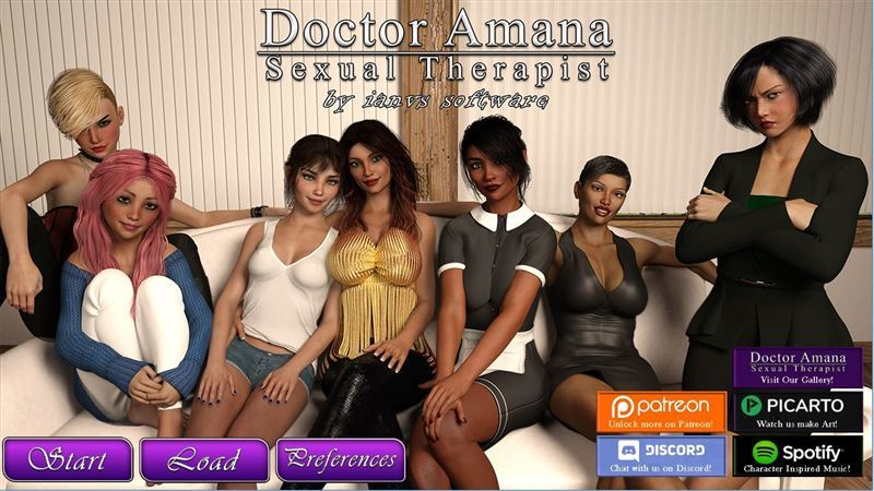 Dr. Amana, Sexual Therapist – Version v1.0.7b + Compressed Version by Ianvs Win/Mac
