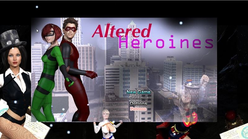 Altered Heroines Redeux – Version 0.14.12 by DefShock Creations