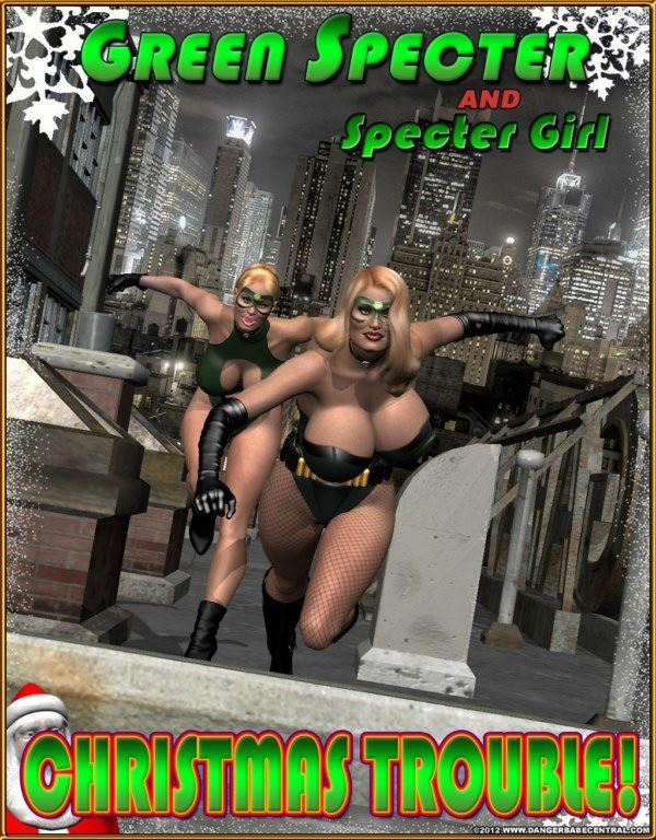 MrX – Green Spectre & Spectre Girl – Christmas Trouble