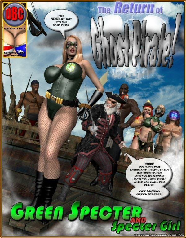 MrX – Green Specter – The Return of Ghost Pirate 01