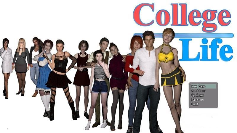 College Life – Version 0.2.9 Full + Compressed Version + Guide by MikeMasters