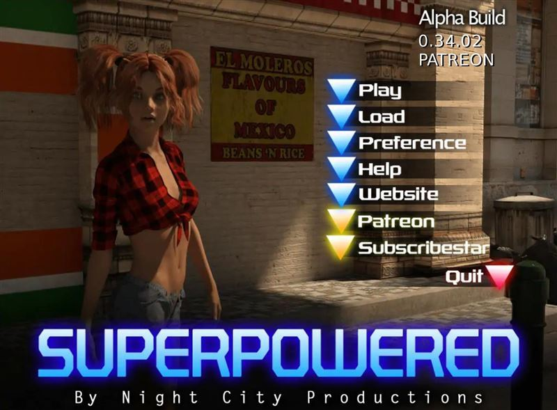 Night City Productions Superpowered Version 0.36.02