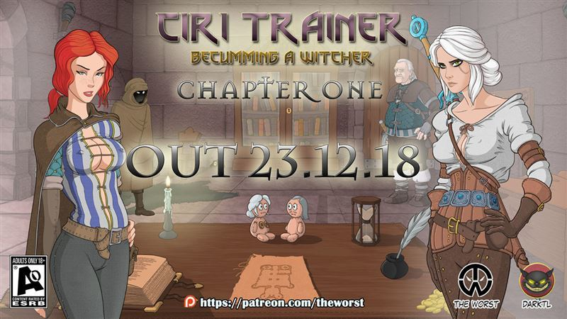 Ciri Trainer Chapter 4 v0.75 Win/Mac​ by The Worst