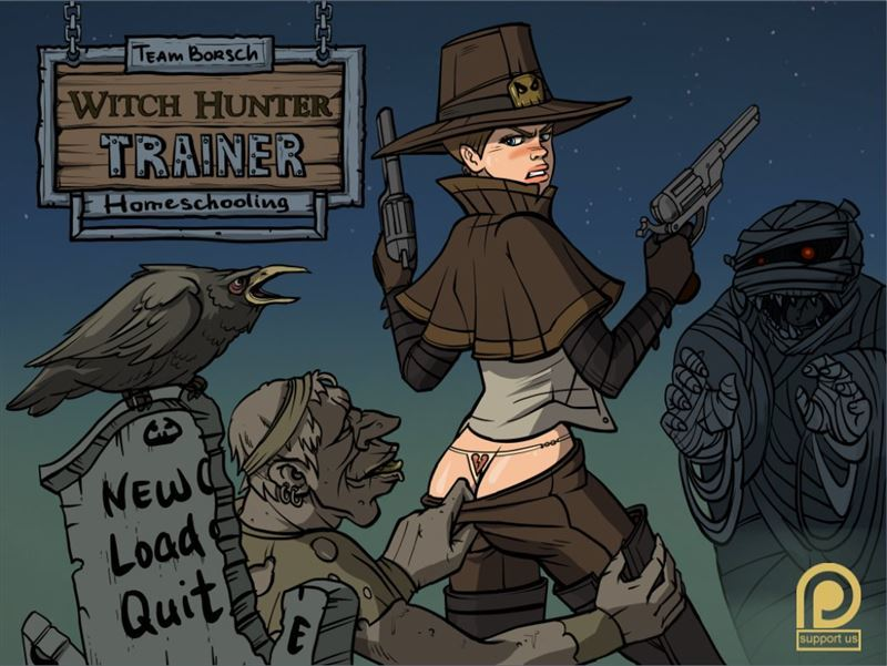 Witch Hunter Trainer Lonesome octoberWin/Mac/Android by Team Borsch