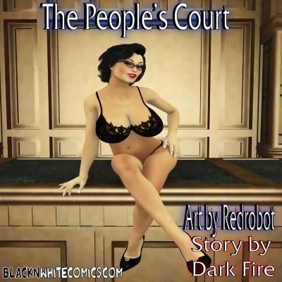 Blacknwhitecomics – The People's Court