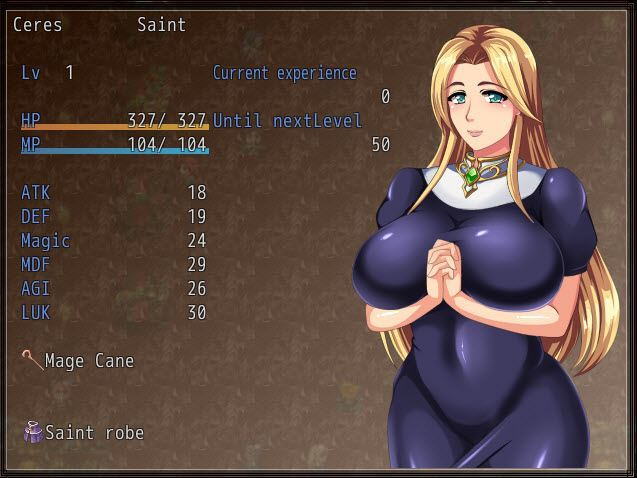 Starworks – Saint Ceres – story after defeating the demon king (eng)