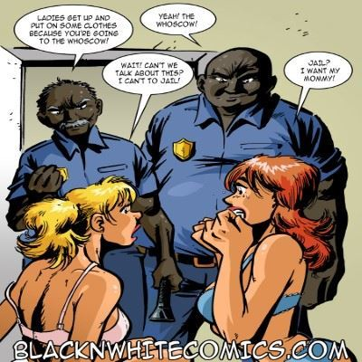 BlacknWhitecomics – Campus Police 1 – 2
