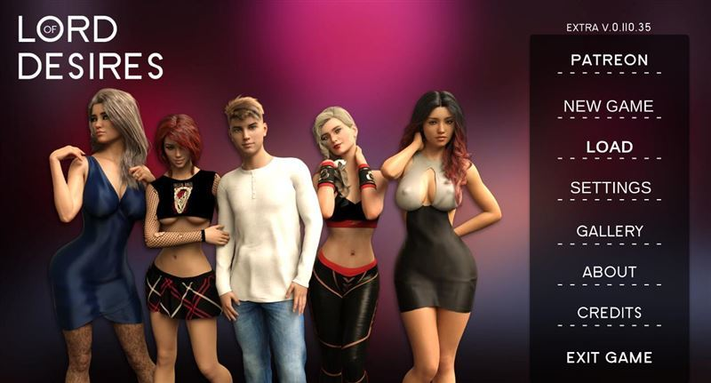 Lord of Desires – Version 0.110.35 by Dragon Cake Win/Mac
