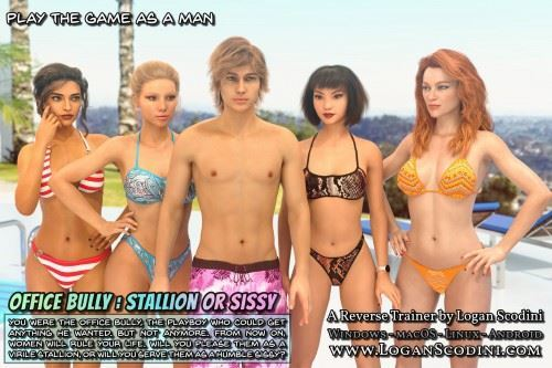 Logan Scodini – Office Bully v0.8: Stallion or sissy Win/Mac/Android