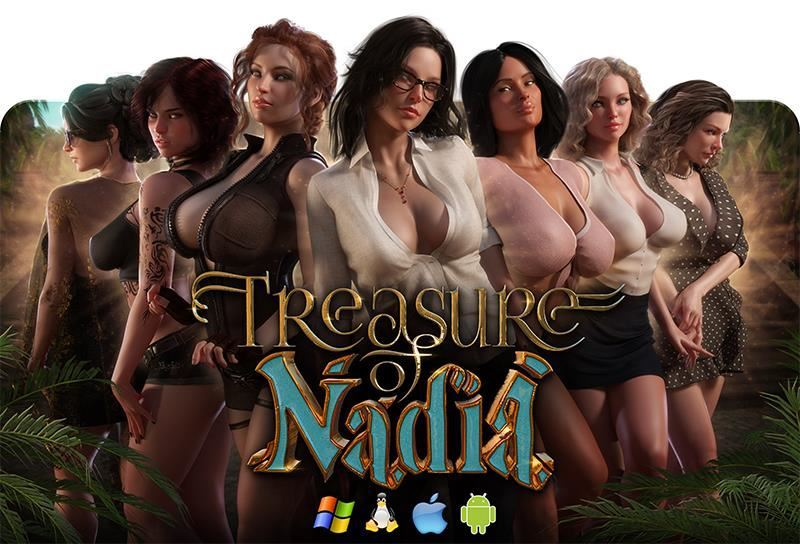 Treasure of Nadia V.11122 Full Win/Mac/Android/Linux+Update Only+Incest Patch+Pinup Gallery by NLT+Compressed Version
