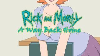 Rick And Morty – A Way Back Home Version 2.3b by Ferdafs Win/Mac
