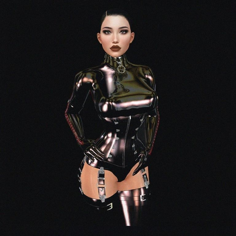 Girls In Latex By Alexandria Brangwin