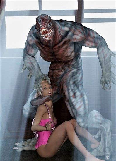 Teen and Her Pussy Invasion by Alien Dick by 3D Taboo Comics