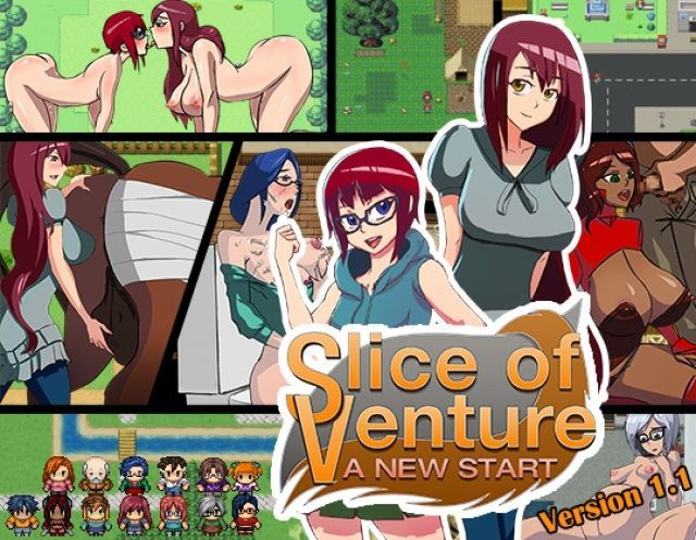 Slice of Venture: A New Start v1.1 Final version by Ark Thompson (eng/uncen)