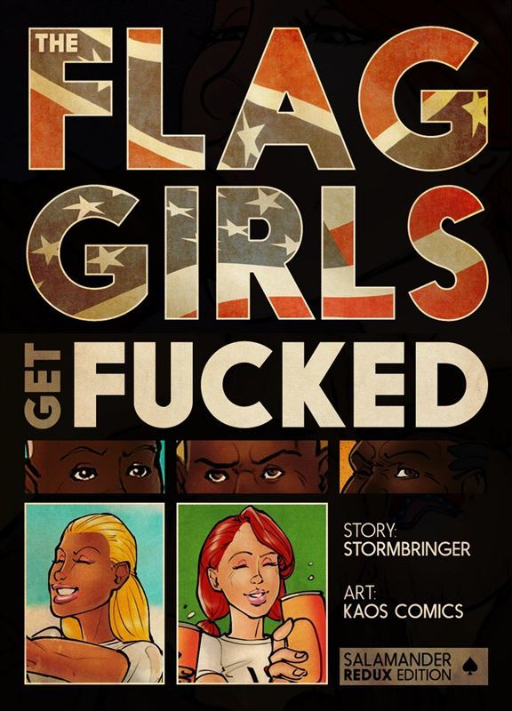 Kaos Comics – Flag Girls Get Fucked Proper Pages Complete