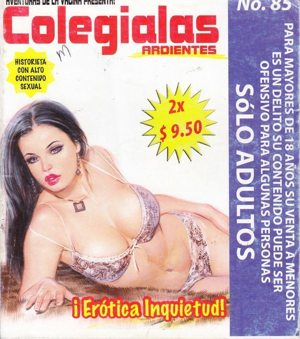 XXX Mexican Comic Colegialas Ardientes #85 [Spanish]
