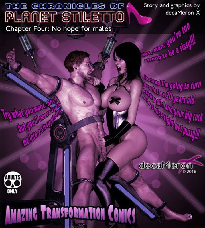 DecameronX – The Chronicles Of Planet Stiletto 04 – No Hope For Males