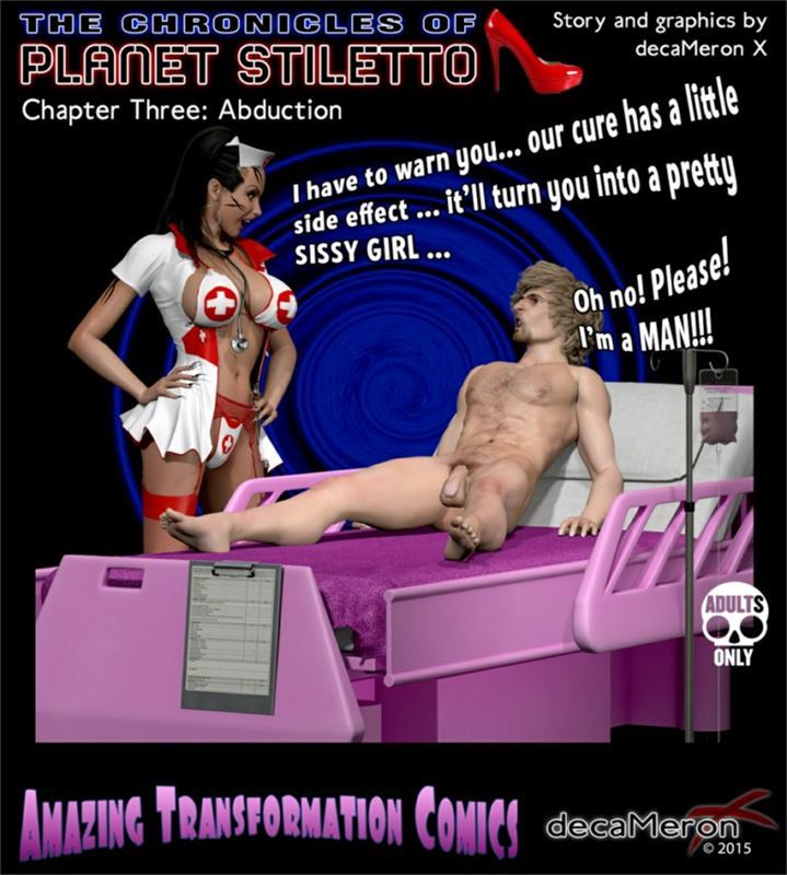DecameronX – The Chronicles Of Planet Stiletto 03 – Abduction