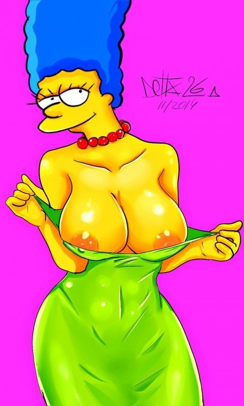 Delta26 Artwork Featuring Hot Busty Cartoon MILFs