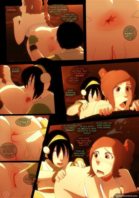 Updated new Sillygirl Toph vs Ty Lee Avatar The Last Airbender parody