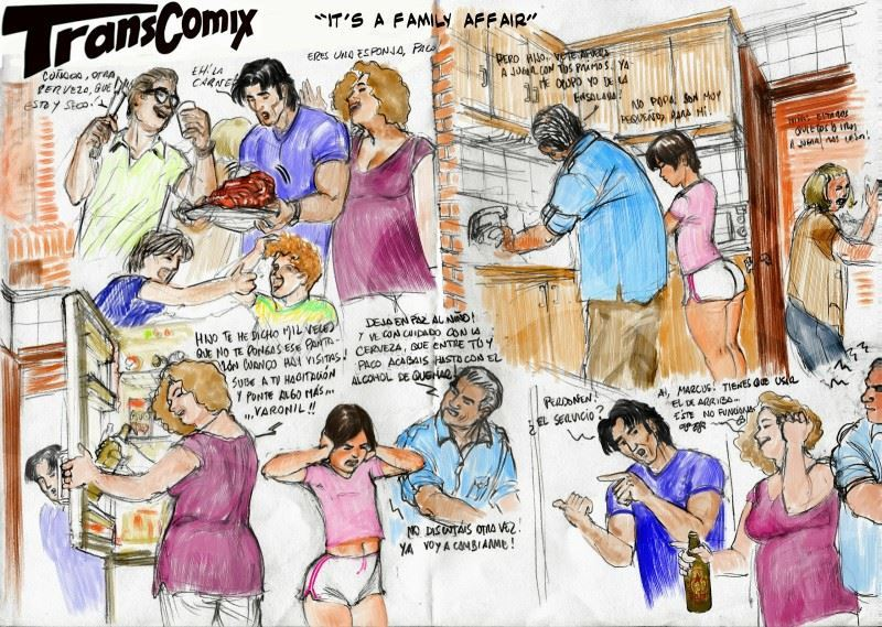 TransComix – This is a Family Affair