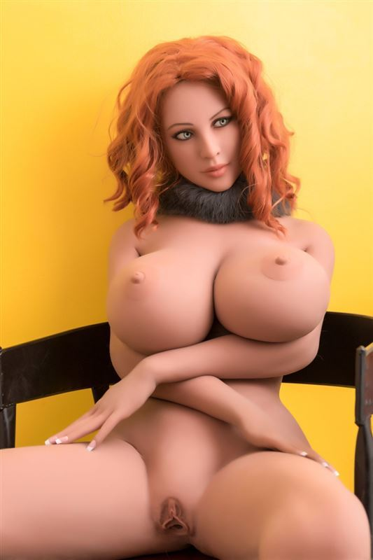 WM Dolls 167cm Huge Boobs Red-Haired Doll
