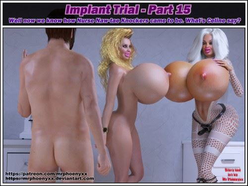 Phoenyxxx – Implant Trial part 13-17