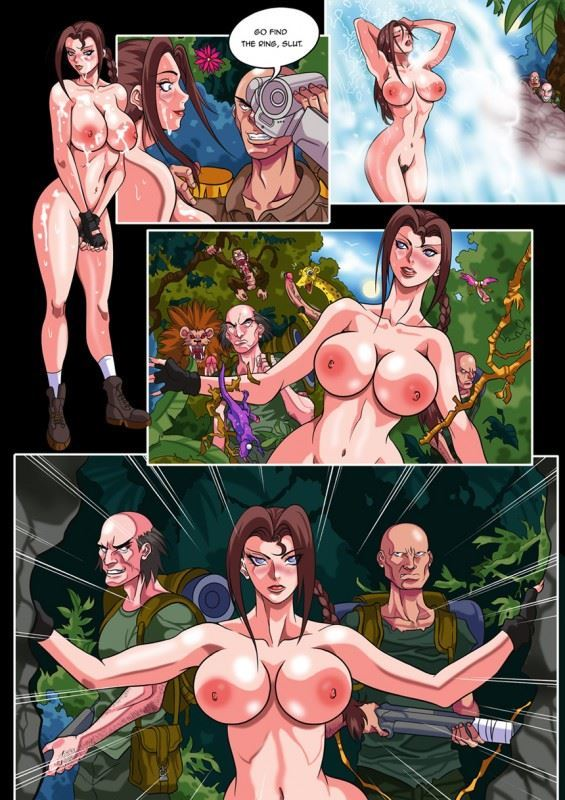 comic raider sex tomb lara croft