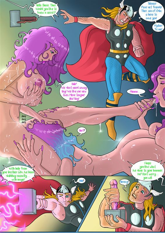 jackthemonkey Doctor Bimboid vs Marvel Comic Heroes ongoing