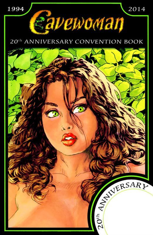 [Budd Root] Cavewoman – 20th Anniversary Convention Book