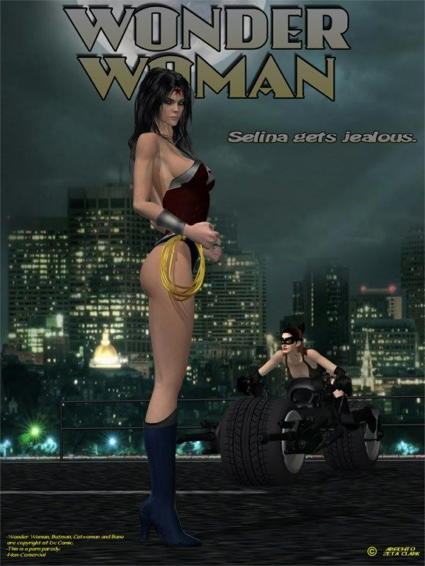 Argento – Wonder Woman – Selina Gets Jealous