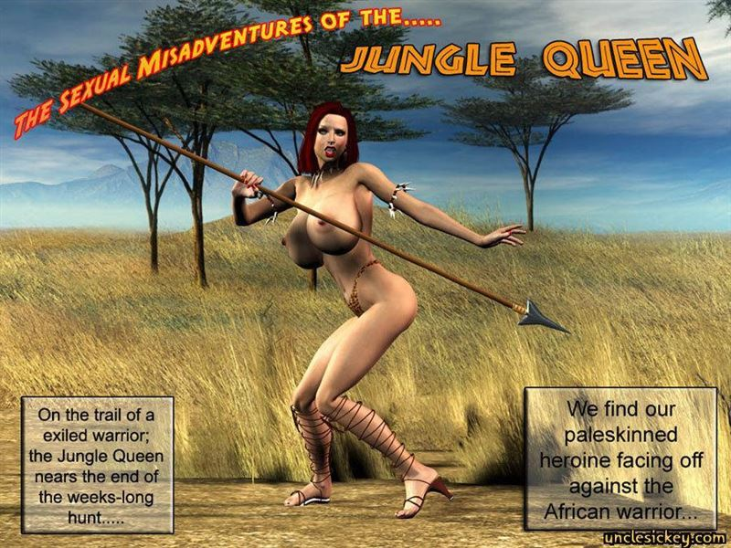 Jungle Queen 3D Sex BY UncleSickey