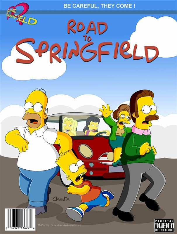The Simpsons ClaudiaR Road To Springfield