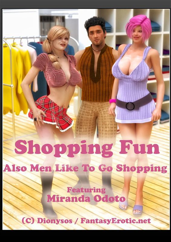 Dionysos(FantasyErotic) – Shopping Fun – Sex in Changing Room