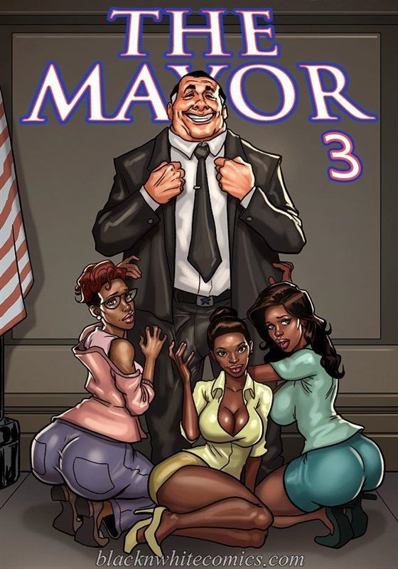 BlackNWhiteComics The Mayor 3
