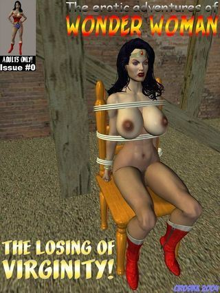 Cirosikk The Erotic Adventures of Wonder Woman – The Losing of Virginity!