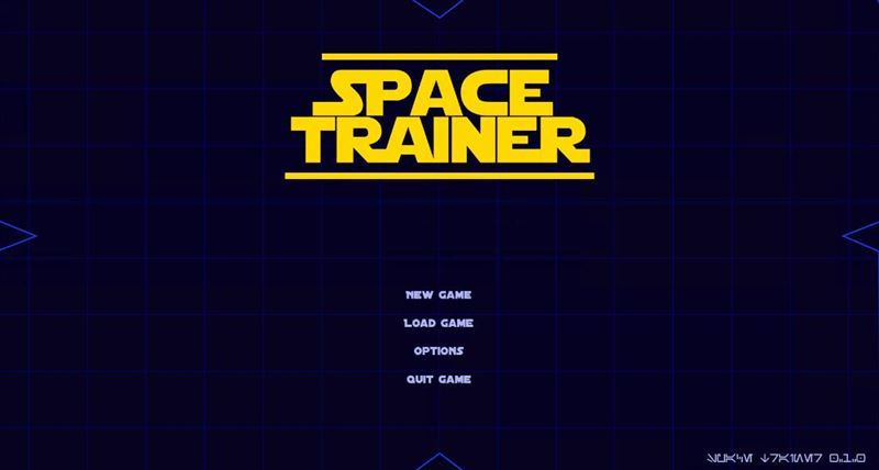 Space Trainer Version 0.1.0 by Xasrai