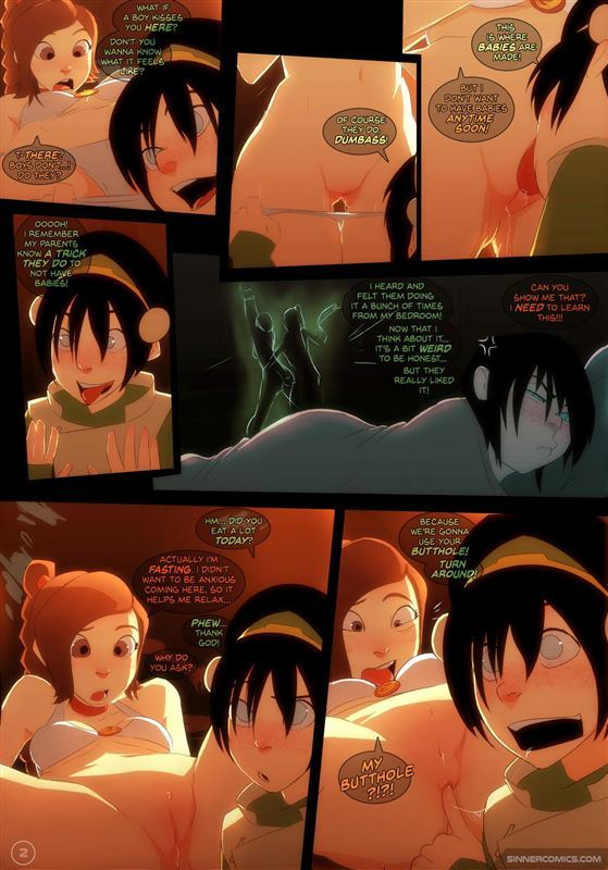 Sillygirl – Toph vs Ty Lee from Avatar The Last Airbender
