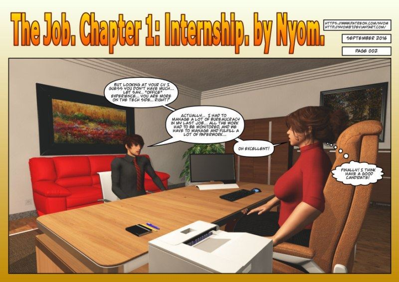 The Job – Chapter 1 art by Nyom
