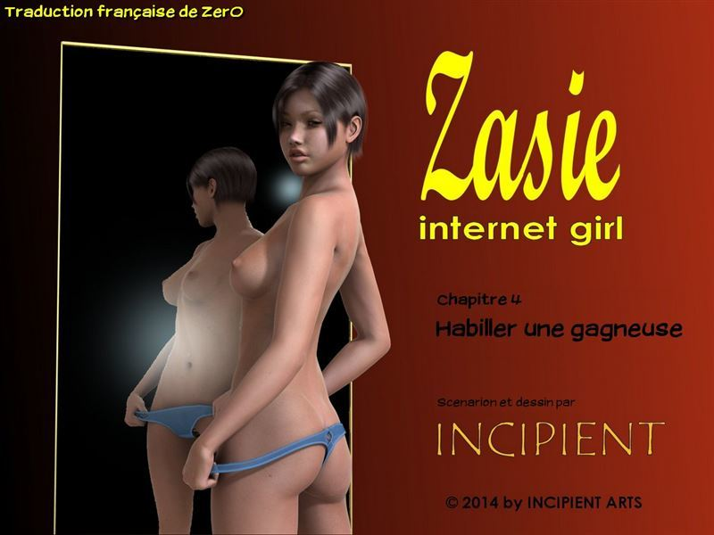 [Incipient] Zasie – Internet girl (Ch 01-04) [French]