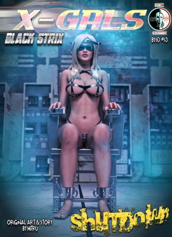 Mitru – X-Gals – Black Strix Shutdown 1-17