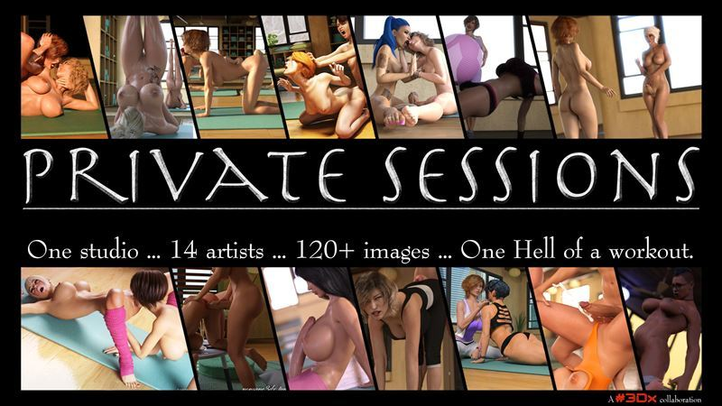 Hashtag 3Dx – Private Sessions with shemale and sex toys at the gym