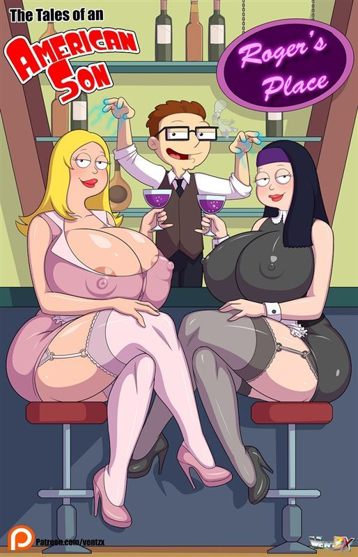 American Dad parody with Francine and Hayley by Arabatos Tales of an American Son ongoing