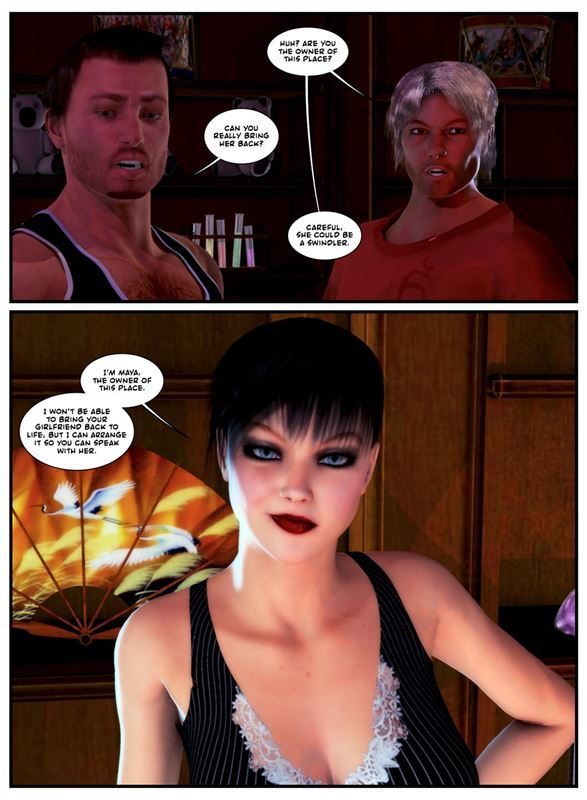 Porn Comix With Body Transformation