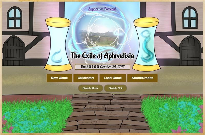 The Exile of Aphrodisia Version 0.1.14.1 by Judoo