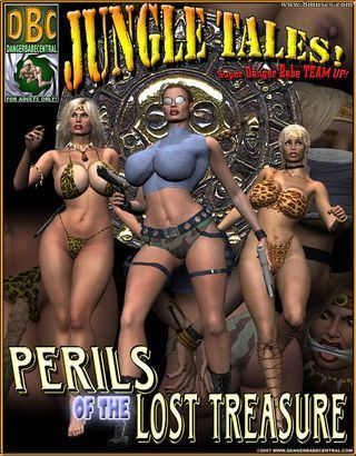 [Dangerbabecentral] Jungle Tales – Perils of the lost treasure