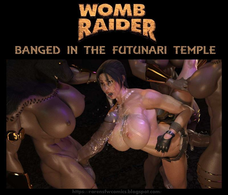 Womb Raider – Lara Banged in the Futunari Temple