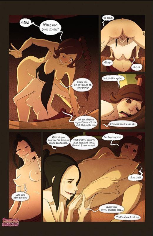 Lesbian Bdsm Comics Deep Down by Fixxxer | Download Free