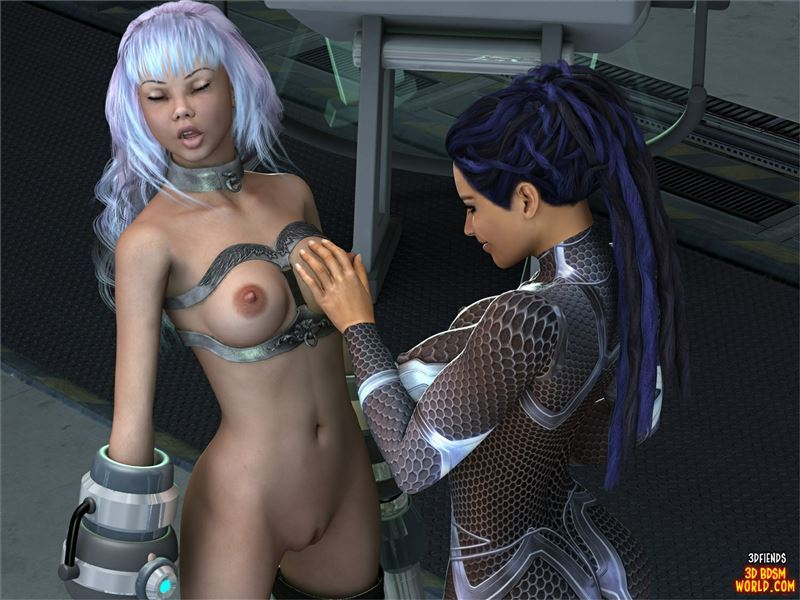 3DFiends 3D BDSM World 7 Lessa Is Tested