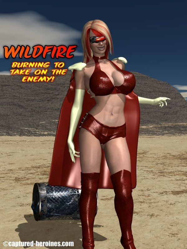[Captured-Heroines] Wildfire – Burning To Take On the Enemy?